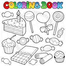 Elegant Candy Coloring Pages 59 On Coloring for Kids with Candy ...