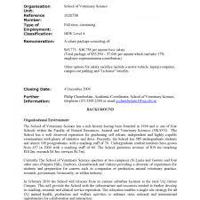 Free Resume Cover Letter Examples For Veterinary Technician Vet Vet