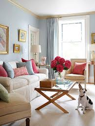 Decorating small living room Interior Condo Decorating Ideas Adding Color Character Better Homes And Gardens Smallspace Decorating Better Homes Gardens