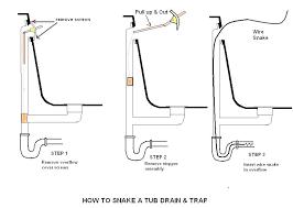 install bathtub drain connecting replacing bathtub drain shoe install bathtub drain