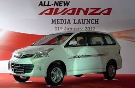 toyota new car release 2012New Toyota Avanza launched in Malaysia