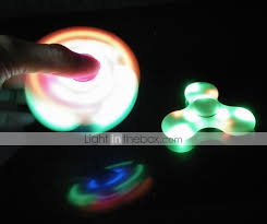 Fidget Spinner With Led Lights And Speaker Get Portable Wireless Speaker Fidget Spinner With Led Light