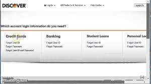 Discover Credit Card Login Www Discovercard Com Youtube