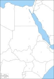 نهر النيل خريطة مجانية, خريطة خاليه من الفراغ, خريطة الخطوط العريضة, خريطة  القاعدة الحرة دول, المدن الرئيسية
