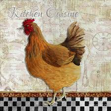 Decorative Chickens For Kitchen Similiar Rooster Paintings For Kitchen Keywords
