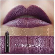 focallure lipstick high gloss lip color lip crayons lip tint 19 colors optional for women fashion lips makeup colors