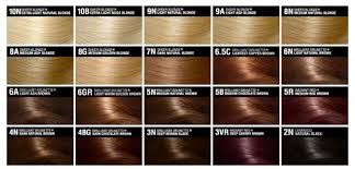 John Frieda Precision Foam Color Chart Light Brown Hair Color Chart And So A Run Down On The
