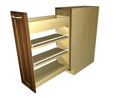 pull out coat rack spice cabinet pullout racks