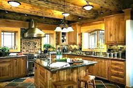 Cabin kitchen design Compact Log Cabin Kitchen Designs Favorite Kitchen Log Cabin Kitchen Masscrypco Rustic Log Cabin Kitchens Noahseclecticcom