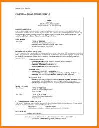 5 Example Of Skills On A Resume Emt Resume