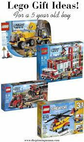best lego gift ideas for a 5 year old boy including lego city trucks