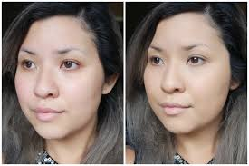 too faced concealer before and after. before / after too faced born this way foundation in sand concealer and