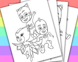 Digital Instant Download Printable Coloring Page