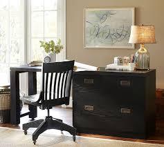 reynolds modular home office desk lateral file desk artisinal black barn office furniture