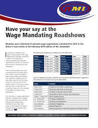 wage negotiations process rmi retail motor industry organisation