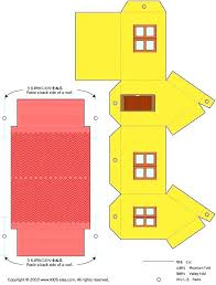 Printable House Template For Kids Paper House Template Printable