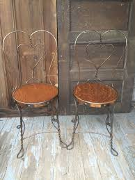 ice cream parlor chair antique