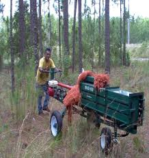 how to make a pine straw baler