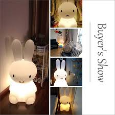 2019 50cm Dimmable Rabbit Lamp Led Night Light For Baby Children