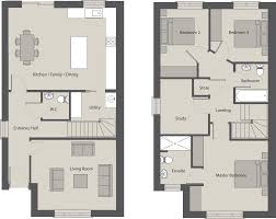 semi detached house internal area c 130 sq m c 1 400 sq ft