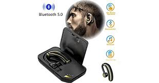vtin 078 bluetooth headset wireless headphones over head headphone with crystal clear noise canceling microphone for call center
