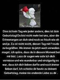 Geburtstag Im Himmel Schatzkiste Sprüche Trauer Trauersprüche