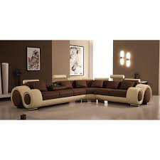 Modern leather couch White Yhst693281659099942561930942798 Dream Furniture Divani Casa 4087 Modern Leather Sectional Sofa