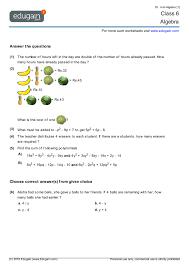 contents algebra