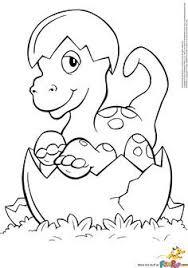 Kleurplaat Dinosaurus Kleuter Google Zoeken Preschool Dragon