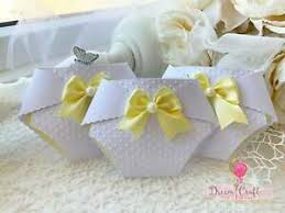 Diaper Invitations Details About Set Of 10 Yellow Baby Shower Diaper Invitations Personalised Nappy Invitations