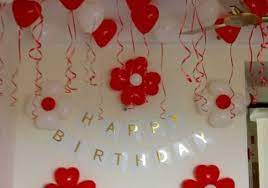 simple birthday decorations with