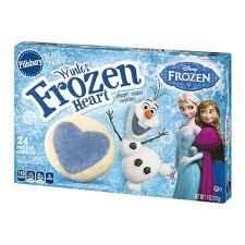 pillsbury sugar cookies.  Sugar Pillsbury Ready To Bake Winter Frozen Heart Shaped Sugar Cookies  24 CT Inside