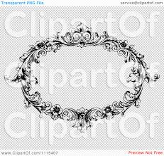 oval frame tattoo design. Vintage Frame Clipart Transparent Background Collection Oval Tattoo Design