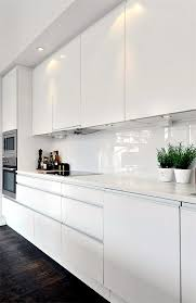 white modern kitchen. Kitchen: Amusing Best 25 Modern White Kitchens Ideas On Pinterest Kitchen From O
