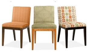 attractive modern fabric chairs with best fabric for dining chairs dining room high impact way to