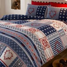 brushed cotton duvet set