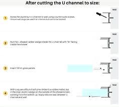 Aluminum Channel Chart Aluminum U Channel Sizes Chart Aluminium Led Profile Application