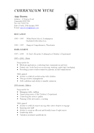 Resume Writing For Teaching Job. Teaching Cv Template Job ...