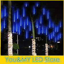 edison2016 2017 snowfall led strip light rain meteor shower rain led light s 100 240v eu us uk au plug patio light strings commercial