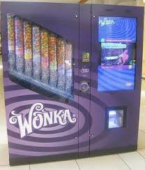 Movie Vending Machine Adorable I Found 'Wonka Nerds Life Size Candy Vending Machine' At The