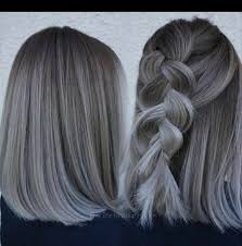 Hair Color Swatchgray Color Chart Because Not All Gray Hair