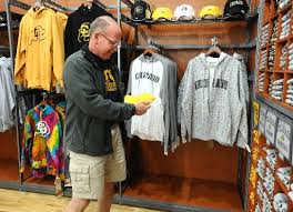 denver university apparel. pre-game cu-boulder apparel sales: rivalry against csu equals big business - boulder daily camera denver university u