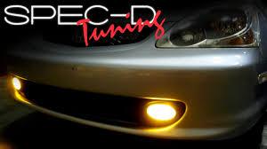 How To Install Fog Lights On Honda Civic 2005 Specdtuning Installation Video 2002 2005 Honda Civic Si Hatchback Fog Lights