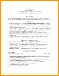 Regulatory Affairs Resume Sample Best Of Regulatory Affairs Resume Regulatory Affairs Resume Regulatory
