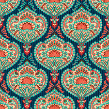 paisley pattern ornate paisley pattern seamless vector free vector in encapsulated