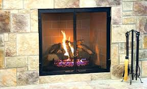 vented vs ventless gas fireplace or logs