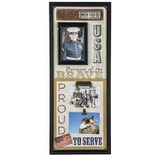 military collage wall frame hobby