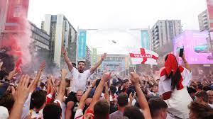 أخبار يورو 2020 | ويمبلي تحت الهجوم واحتفالات في شوارع لندن