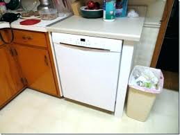gap between dishwasher and counter