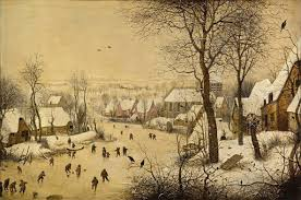 <b>Winter Landscape</b> with Skaters and Birds Trap - Pieter Bruegel the ...